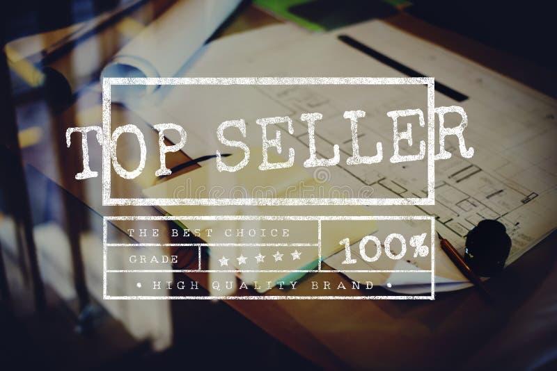 Odgórnego sprzedawcy Popularnego produktu Online transport fotografia stock