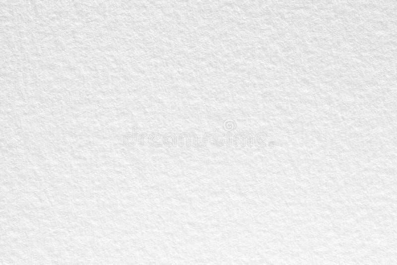 Odgórnego widoku białego papieru tła tekstura obrazy stock