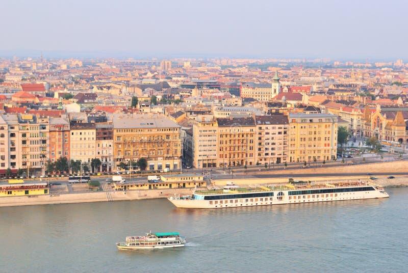 odgórny Budapest widok obraz stock