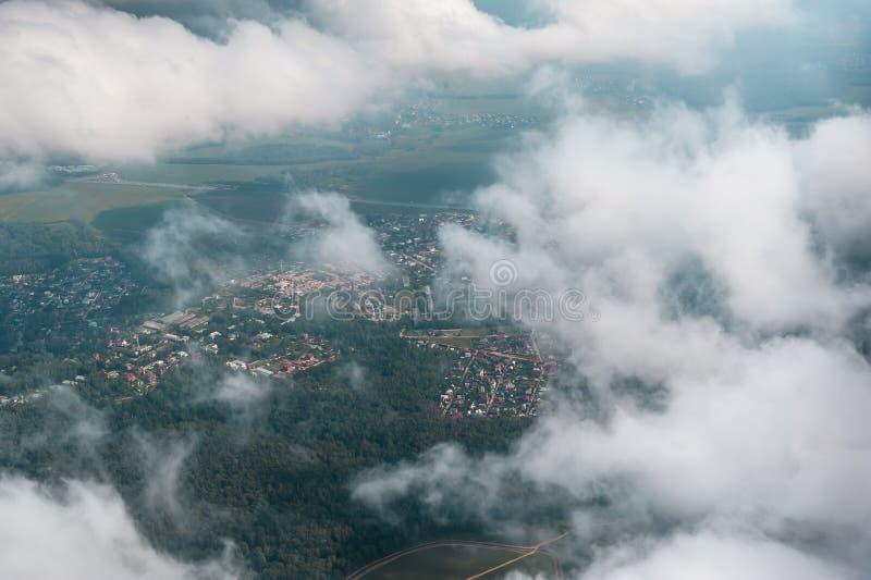 Download Odgórny Widok Białe Puszyste Chmury Obraz Stock - Obraz złożonej z cumulus, piękny: 28950553