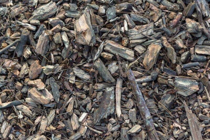Odgórny widok mikstura drewniani układy scaleni zdjęcia stock