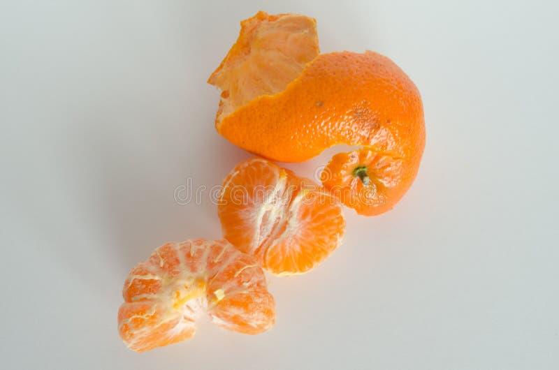 Odgórny widok od clementine obraz stock