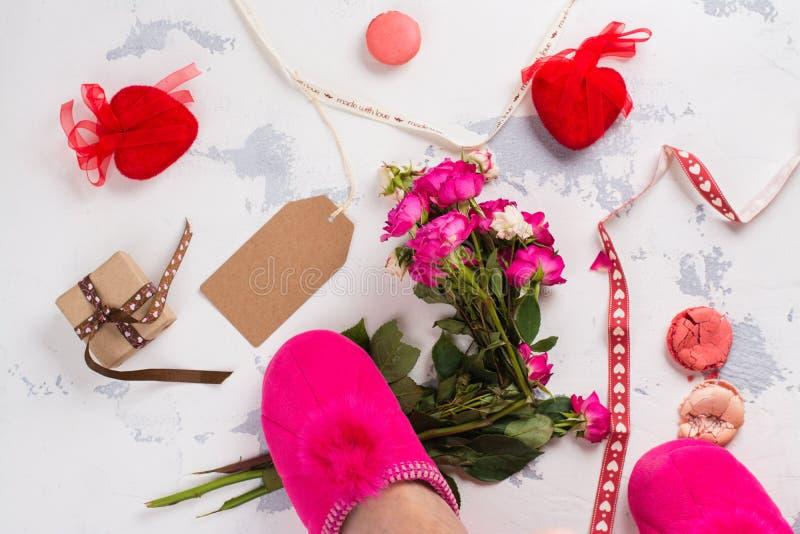Odio concepto del día de tarjetas del día de San Valentín foto de archivo libre de regalías