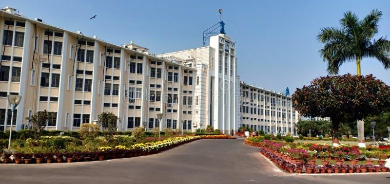 Odisha Sachibalaya hoofdgebouw Bhubaneswar India stock foto