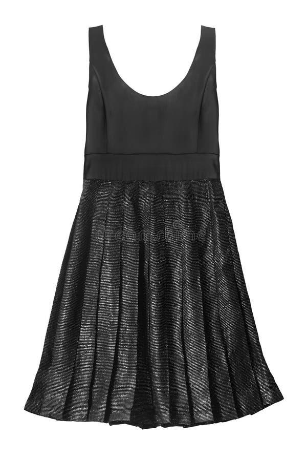odizolowywająca czarny suknia zdjęcia stock