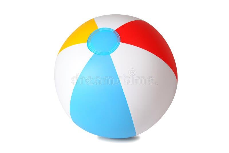 odizolowywająca piłki plaża zdjęcia royalty free