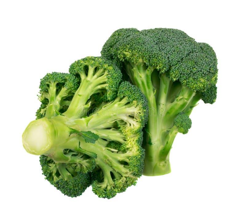 odizolowywający brokułów florets obraz royalty free