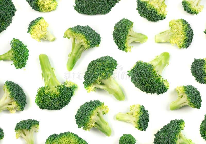 odizolowywający brokułów florets fotografia royalty free