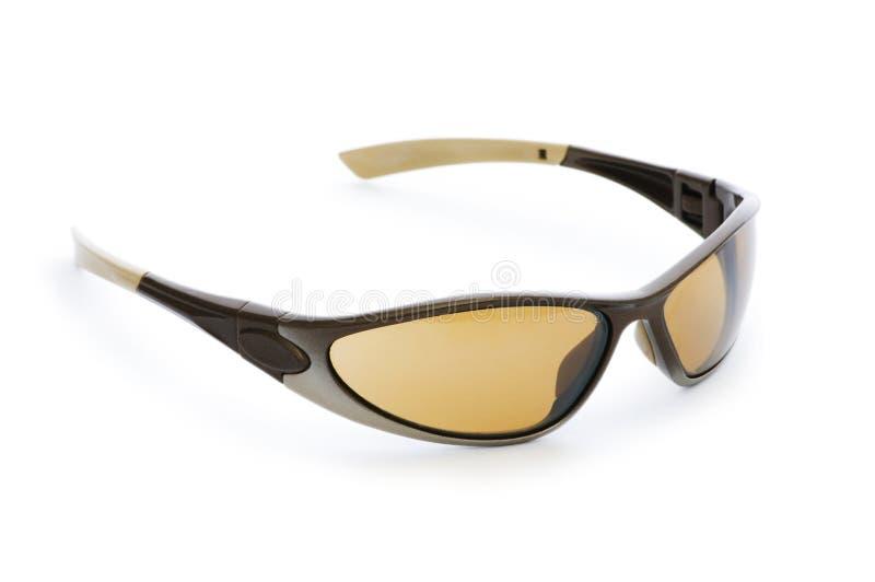 Odizolowywający eleganccy okulary przeciwsłoneczne zdjęcie royalty free