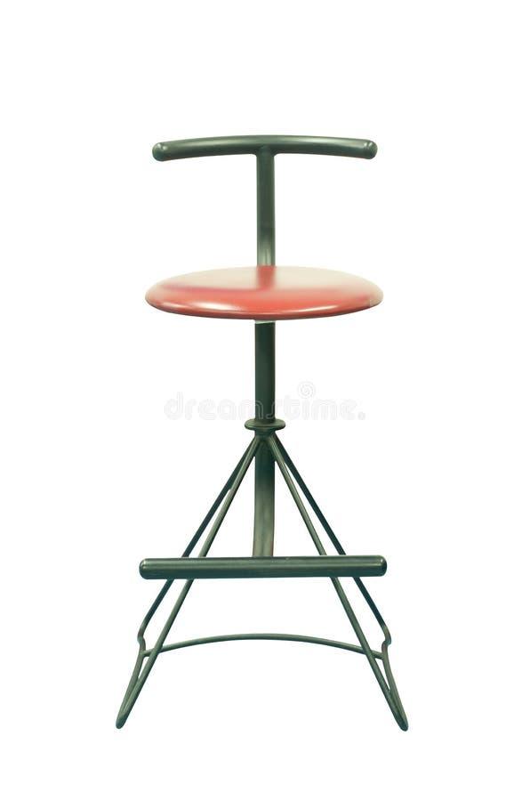 Odizolowywający nowożytny krzesło obraz stock