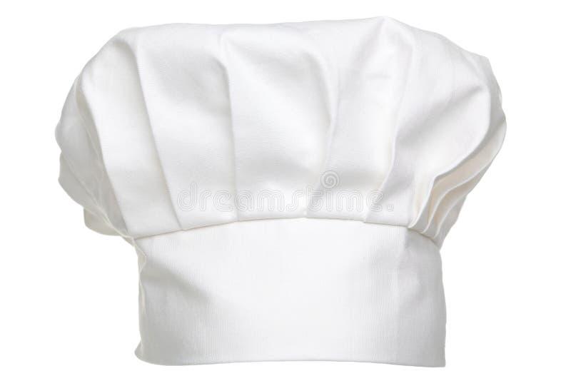 odizolowywający szef kuchni kapelusz zdjęcia stock
