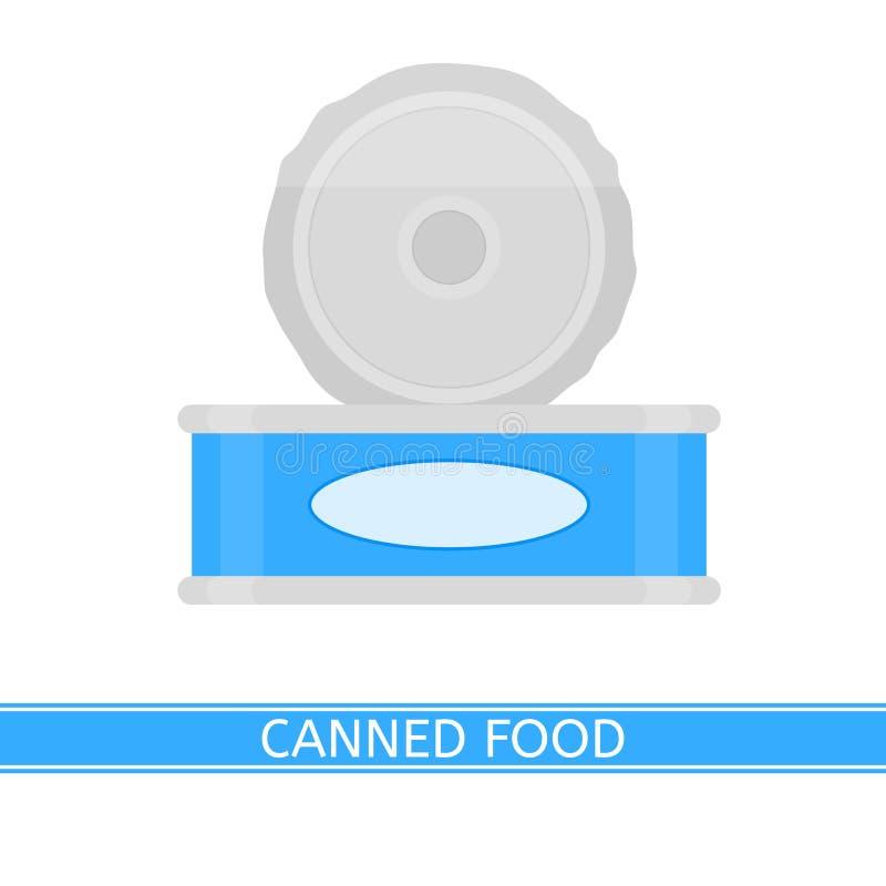 odizolowywający zakonserwowany jedzenie royalty ilustracja
