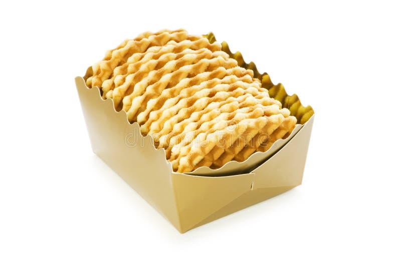 Download Odizolowywający Smakowici Ciastka Obraz Stock - Obraz złożonej z kruszka, cukierek: 13335079
