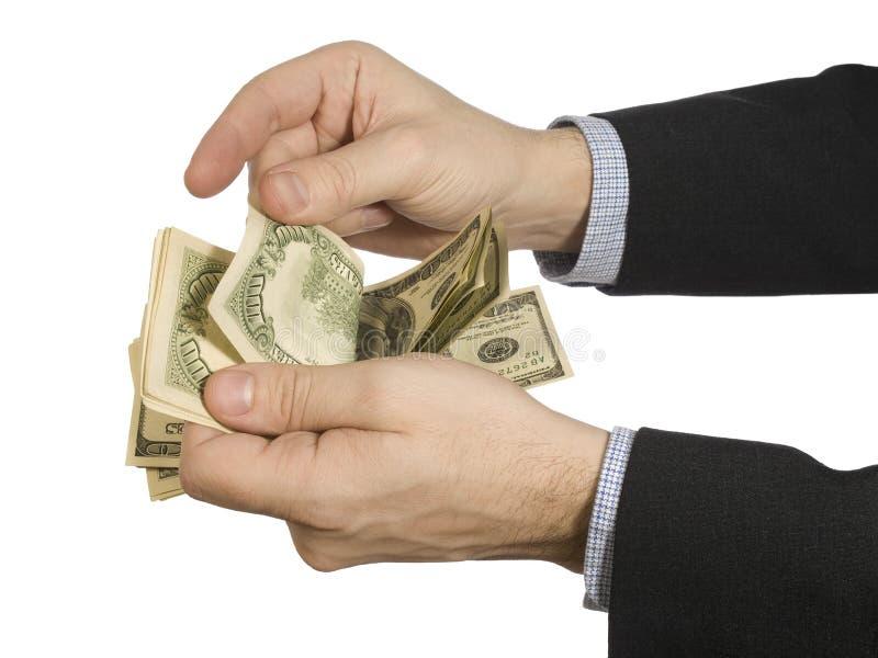 odjąć pieniądze obraz royalty free