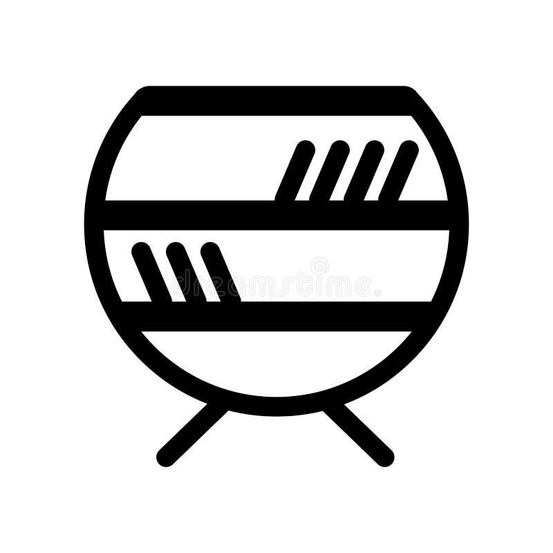 Odkłada ikonę  ilustracja wektor
