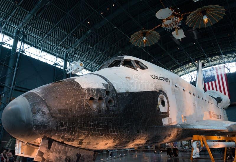 Odkrycia NASA astronautyczny wahadłowiec obraz royalty free