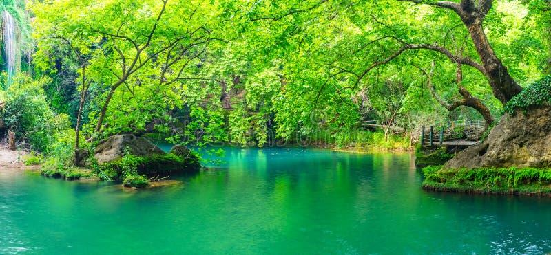 Odkrywa Kursunlu natury parka w Antalya regionie, Aksu, Turcja zdjęcia royalty free