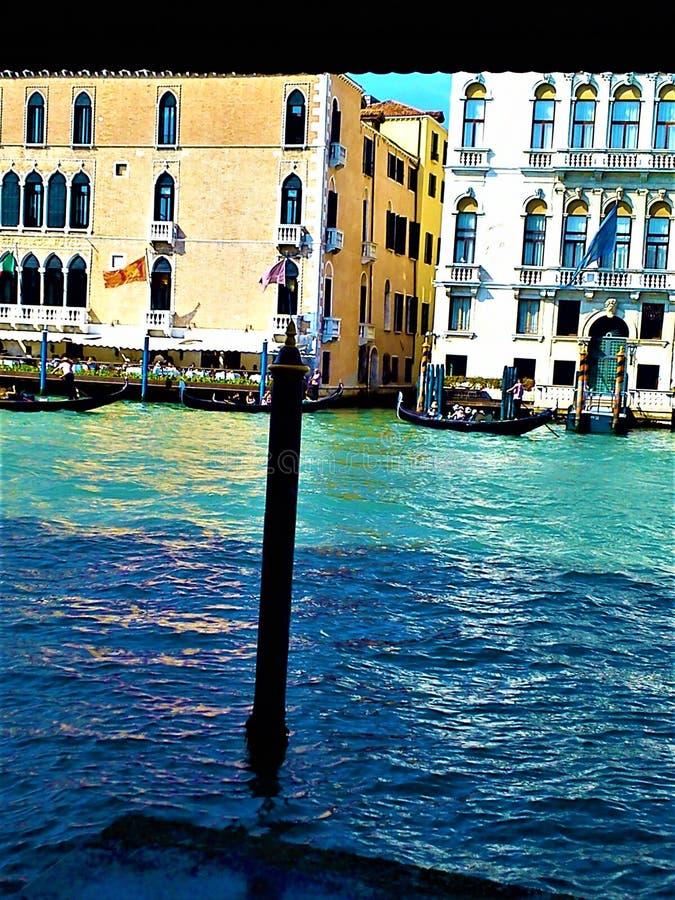 Odkrywa Wenecja miasto, Włochy Facsynacja, jedyność i magia, fotografia stock
