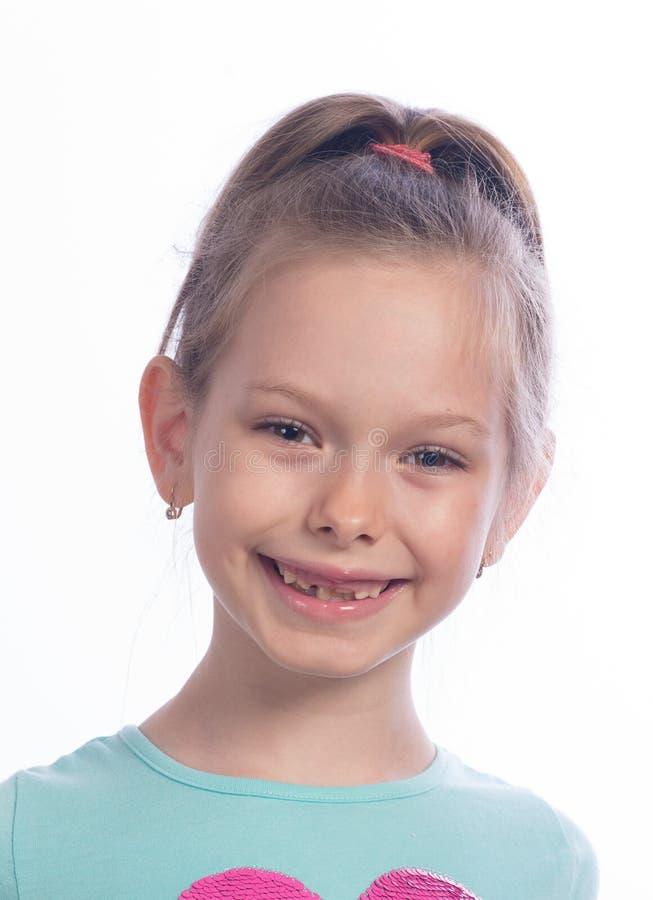 Odmienianie zęby fotografia stock