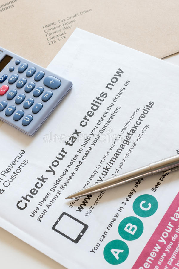 Odnawianie pracuje kredyty podatkowych obrazy royalty free