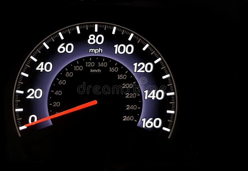 Odometer royalty-vrije stock foto's