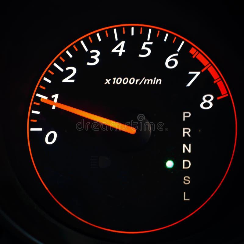 Odometer,tahometer. Odometer tahometer, car speed, autosport royalty free stock photo