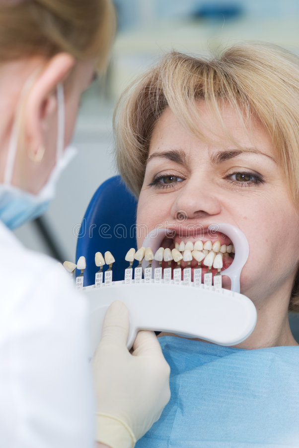 Odontoiatria fotografie stock