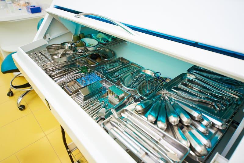 Odontología, tratamiento dental foto de archivo