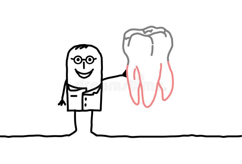 Odontologia ilustração royalty free