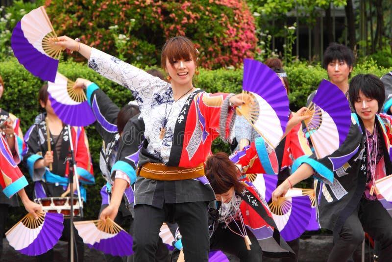 odori Σεντάι του 2011 suzume στοκ φωτογραφία με δικαίωμα ελεύθερης χρήσης