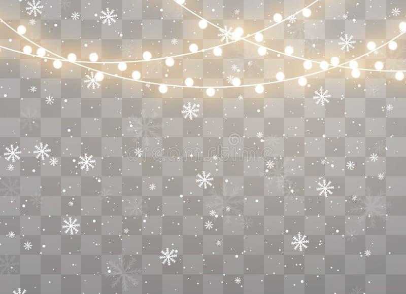 odosobneni Bożych Narodzeń światła zdjęcia royalty free