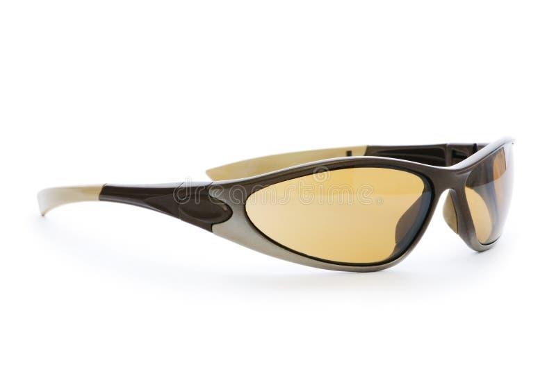 odosobneni eleganccy okulary przeciwsłoneczne zdjęcie royalty free