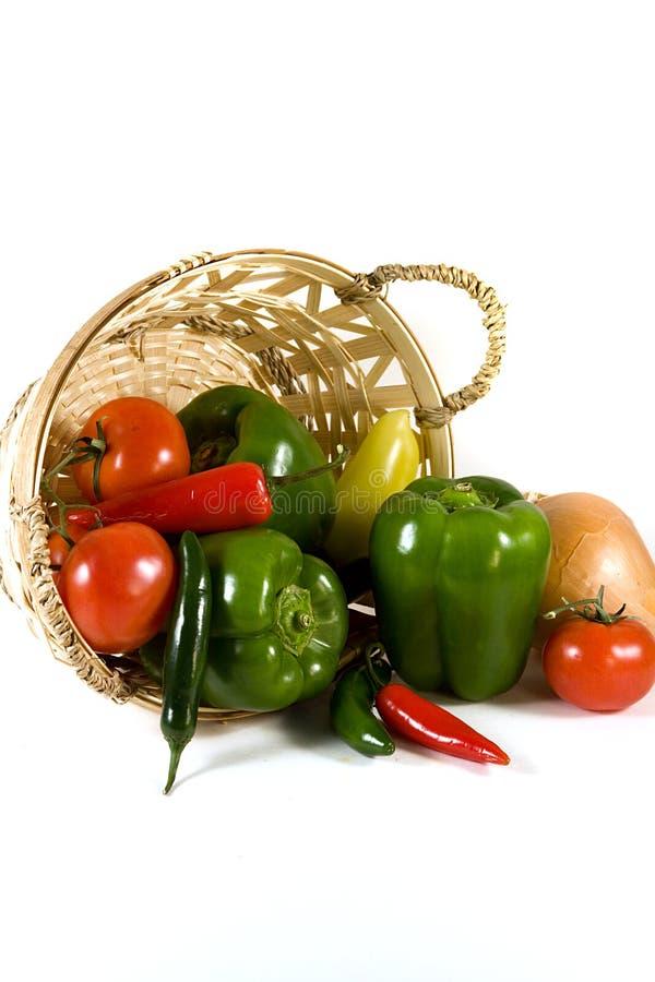 odosobneni tło warzywa zdjęcie stock