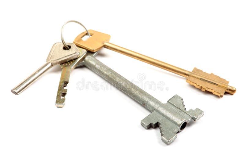 Download Odosobneni wiązka klucze zdjęcie stock. Obraz złożonej z nieruchomości - 13336624