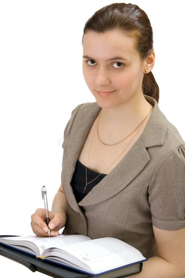odosobniona biznes kobieta zdjęcia stock