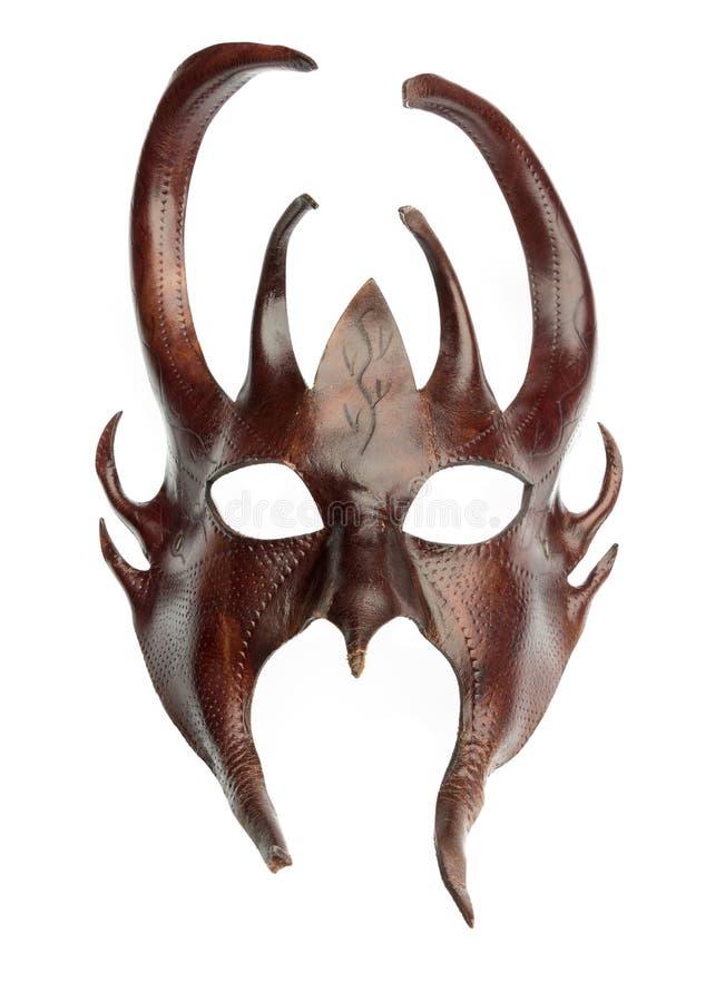 Odosobniona davil maska fotografia royalty free
