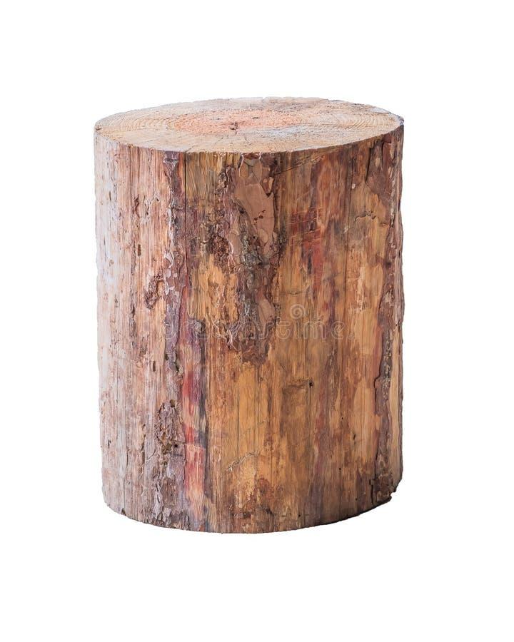 Odosobniona grunge beli stolec lub krzesła rzemiosła rzemieślnika handmade meble fotografia stock