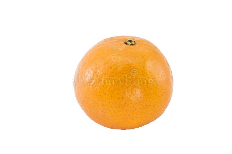 Odosobniona pomarańcze obrazy royalty free
