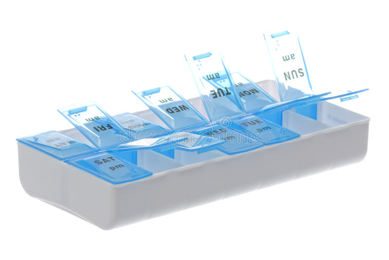 odosobniona pudełko medycyna obraz stock