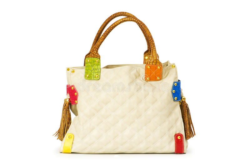 odosobniona torby kobieta zdjęcie stock