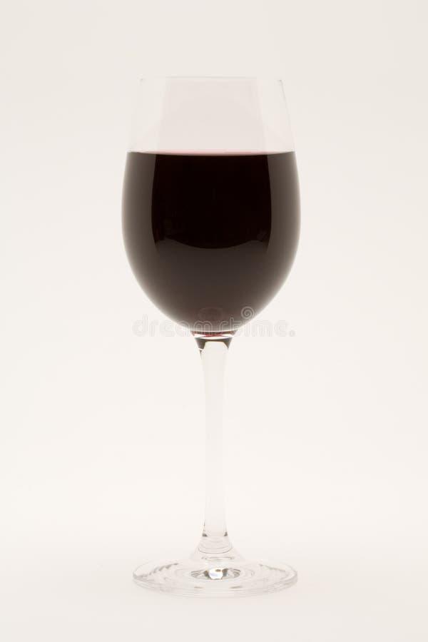 odosobnione kieliszkach wina czerwonego fotografia stock