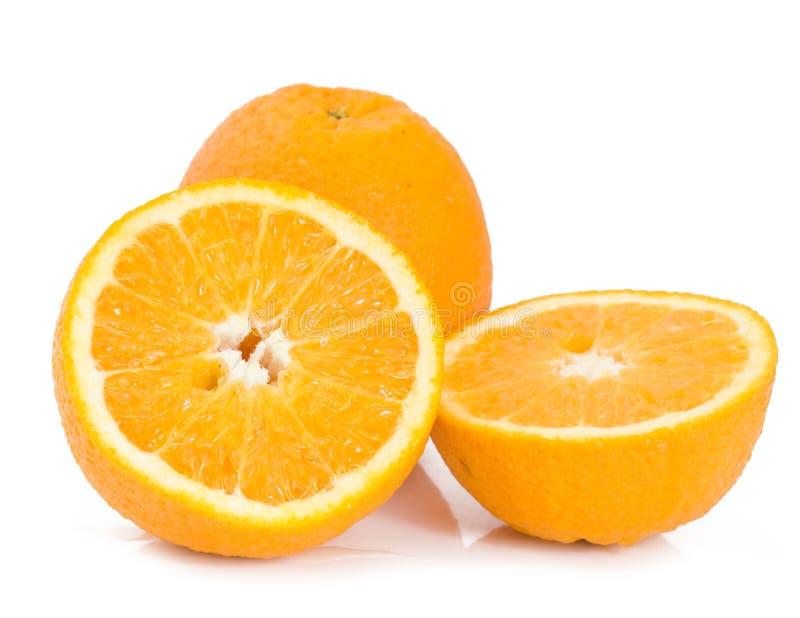 odosobnione pomarańcze fotografia royalty free