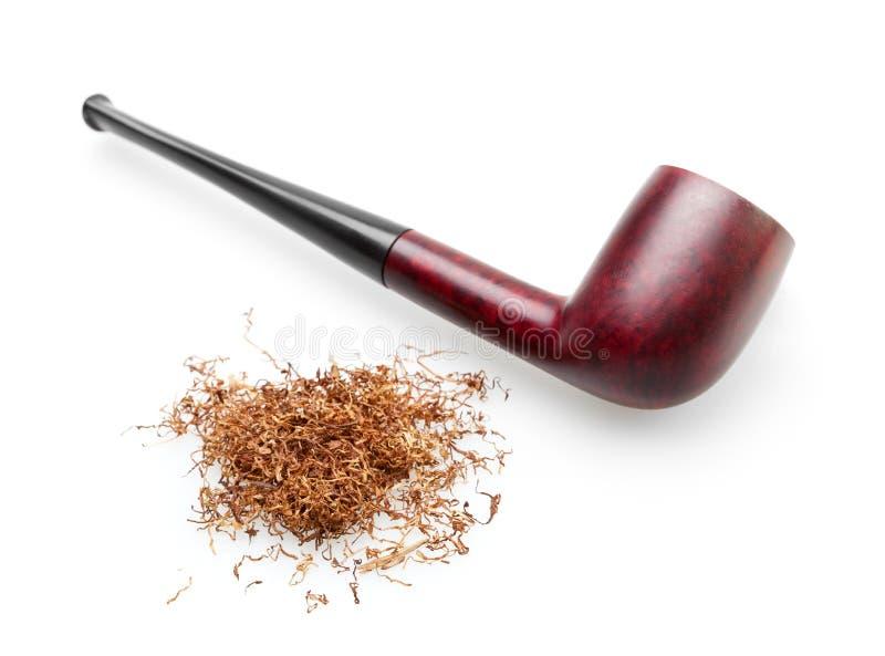 odosobnionego fajczanego dymienia tabaczny biel zdjęcia royalty free