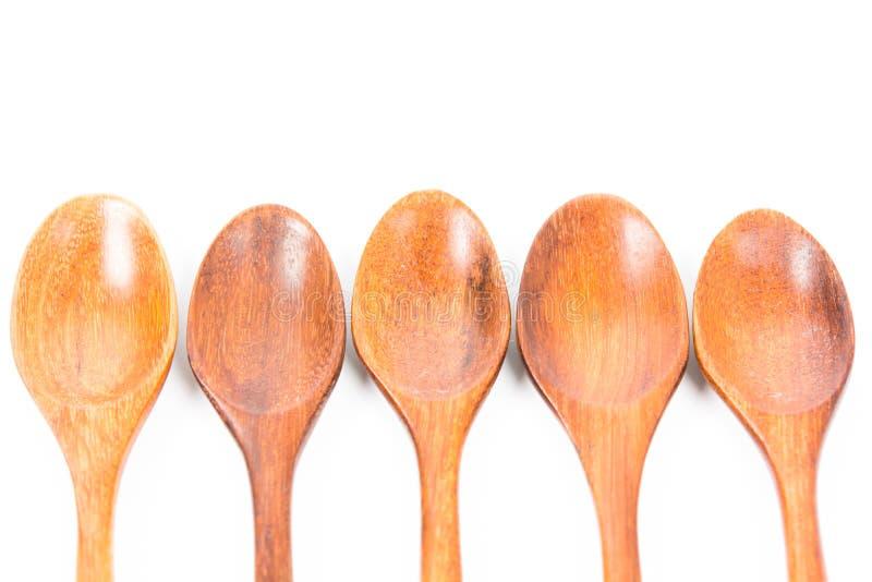 Download Odosobniony łyżkowy Drewniany Obraz Stock - Obraz złożonej z nowy, odosobniony: 53791459