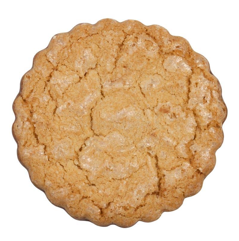 odosobniony ciastka round obraz stock