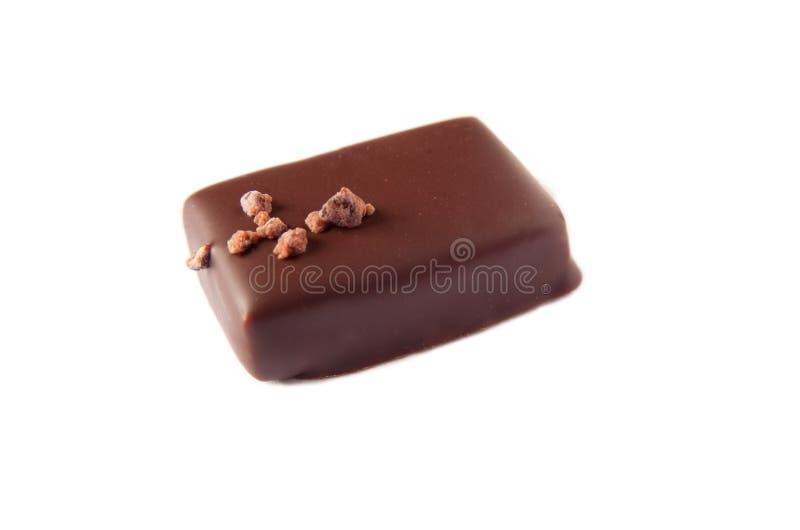 odosobniony czekolady praline zdjęcia royalty free