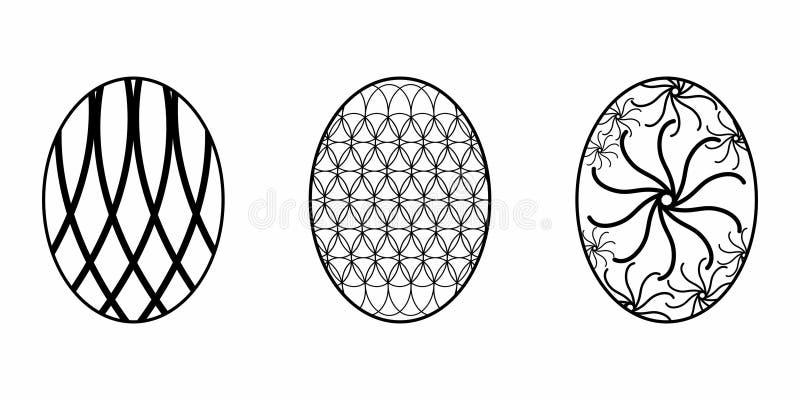 Odosobniony Easter jajko zdjęcie stock