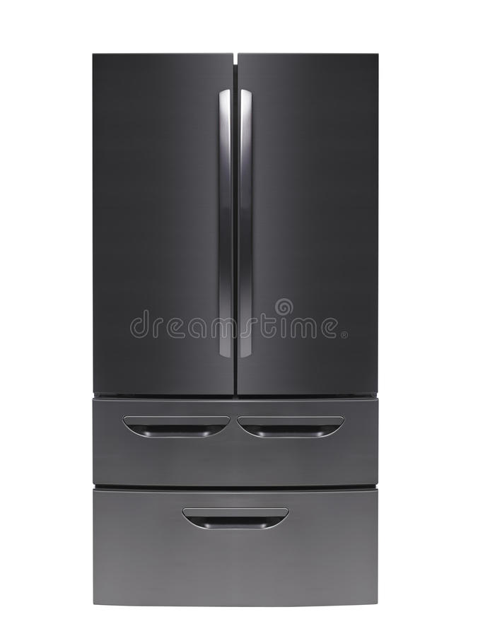 odosobniony fridge biel zdjęcia royalty free