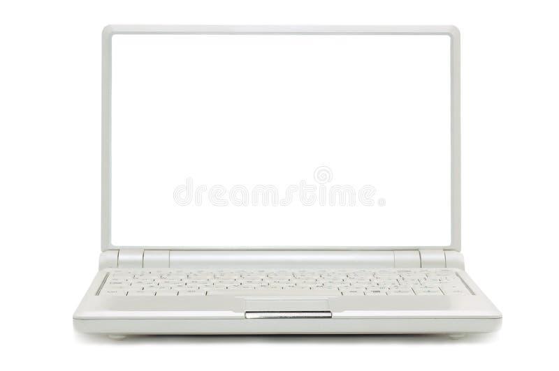 odosobniony laptop obraz royalty free