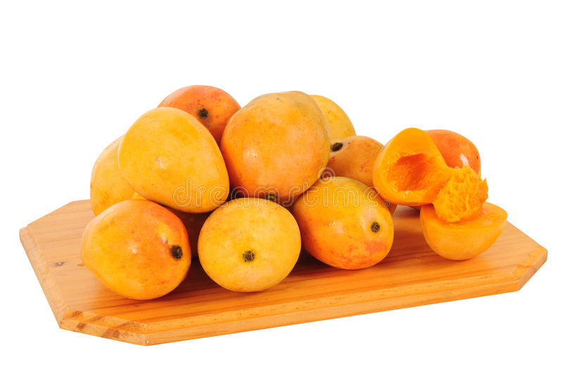 odosobniony mango obrazy stock